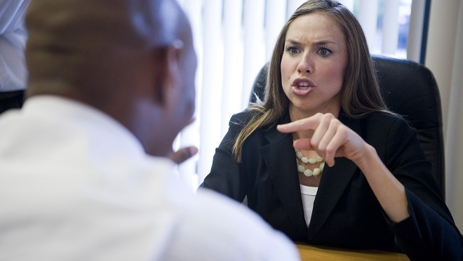 Coworker being aggressive during meeting - Hays Viewpoint, careers advice blog