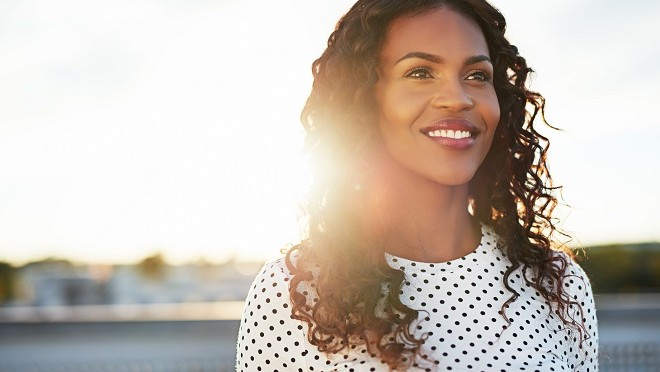 Strong, confident woman - Hays careers advice