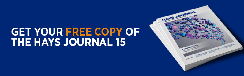 Get your free copy of the Hays Journal 15